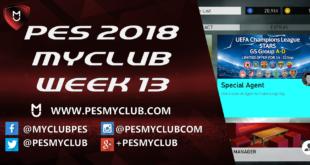 PES myClub 2018 Week 13