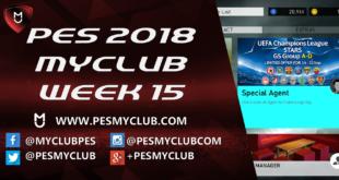 PES myClub 2018 Week 15