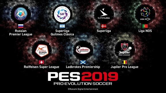 PES 2019 Leagues