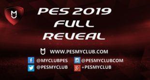 PES 2019 Full Reveal