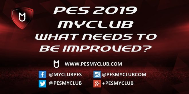 PES 2019 myClub Improvements