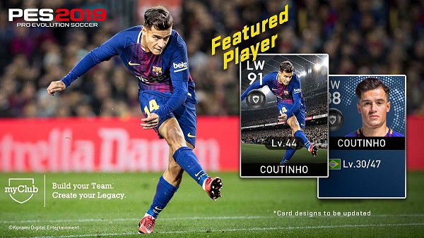 PES 2019 myClub Featured Players