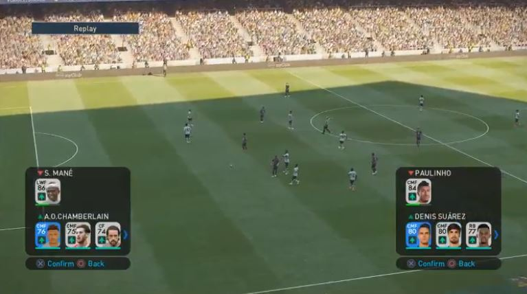 PES 2019 Quick Subs