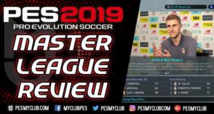 PES 2019 Master League