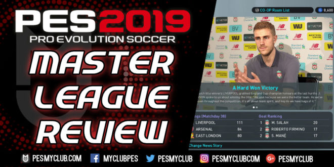 PES 2019 Master League - An Honest Review | PESmyClub