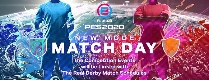 Matchday - PES 2020 new mode